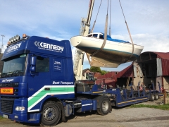 Boat Haulage Transport Ireland
