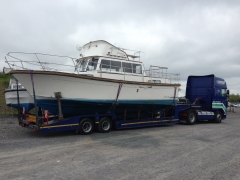 Boat Transport in Ireland