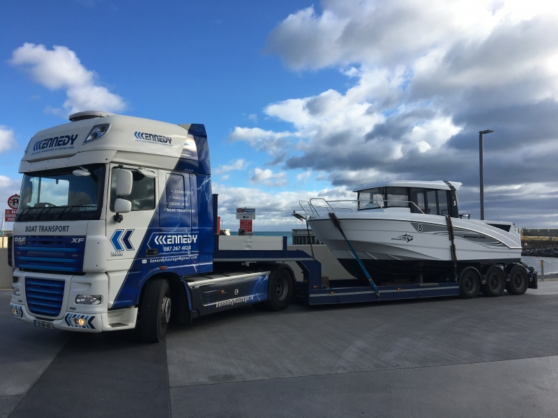 Boat Transport Haulage Kennedy Boat Haulage Ireland