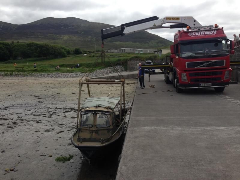 Transport crane hire