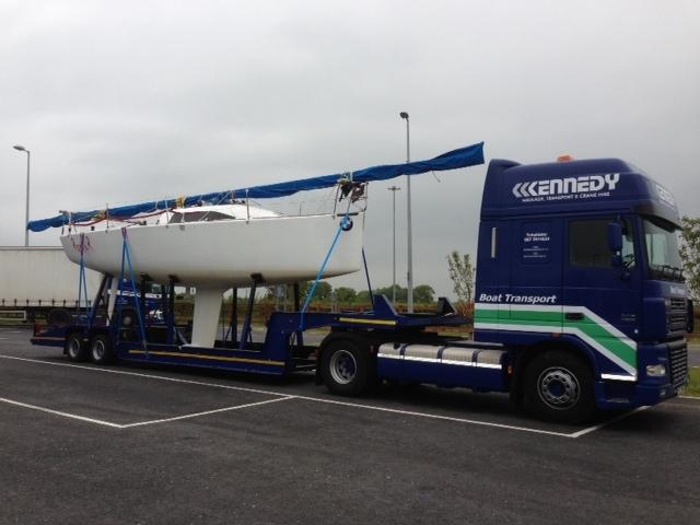 Transport haulage boats