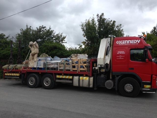Transport haulage construction