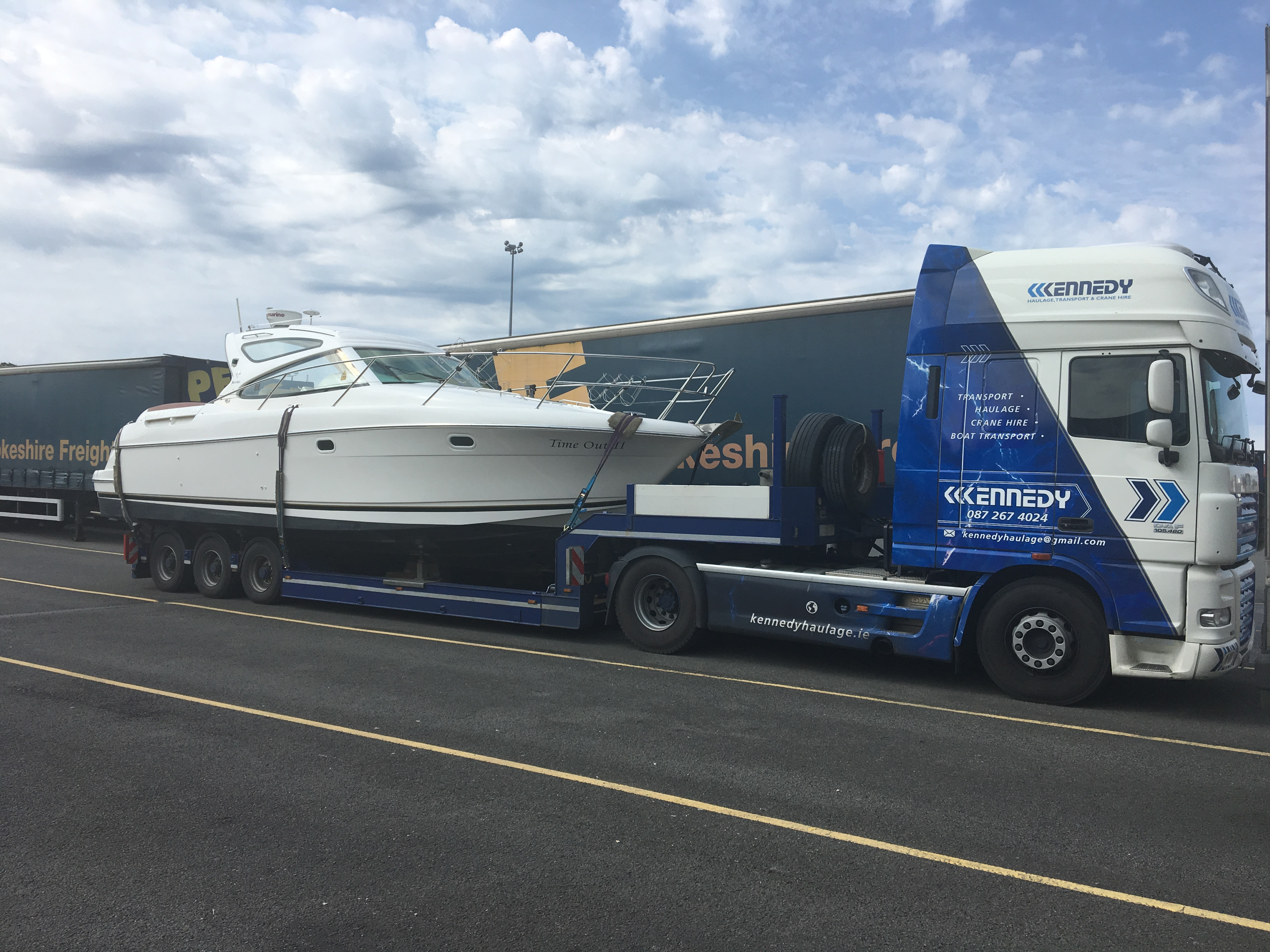 Haulage Contractor Boat Transport Kennedy Haulage Haulier
